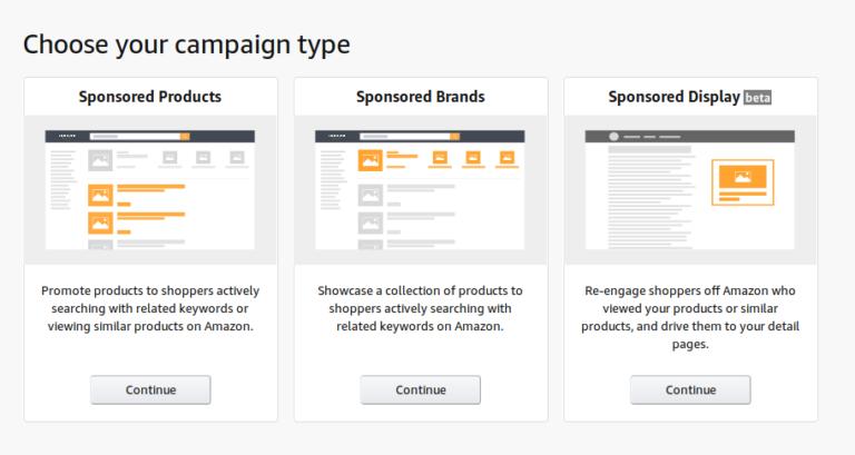 Amazon remarketing campaign