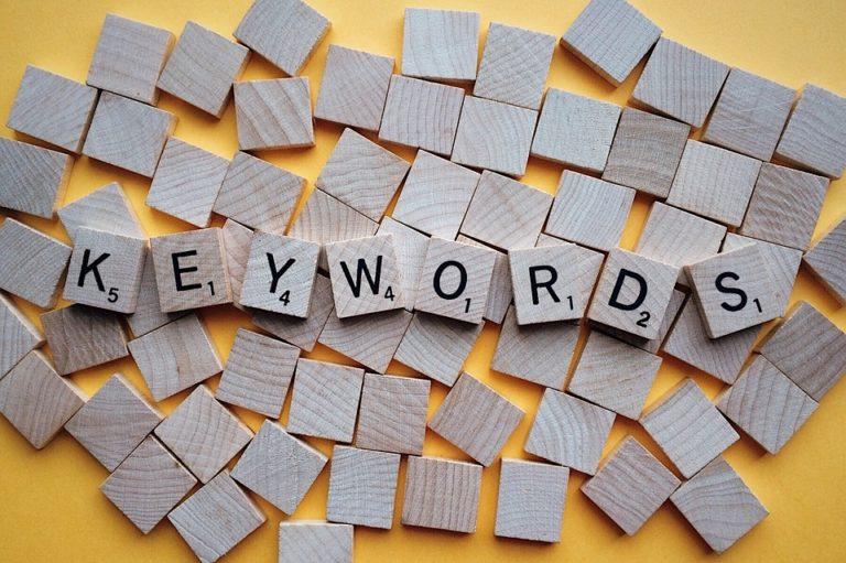 Choosing wrong keywords