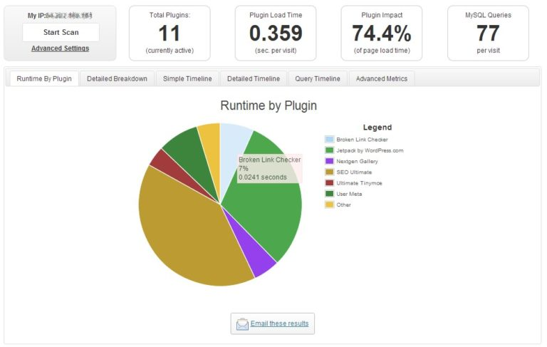 Runtime by plugin
